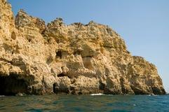 βράχοι βράχου της Πορτογ&a στοκ φωτογραφία με δικαίωμα ελεύθερης χρήσης