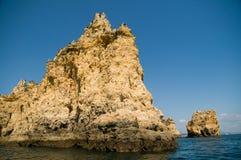 βράχοι βράχου της Πορτογ&a στοκ εικόνες