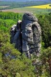 Βράχοι για την αναρρίχηση Στοκ Φωτογραφία