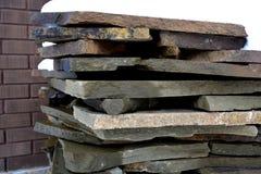 Βράχοι γρανίτη σε έναν σωρό Στοκ Φωτογραφίες