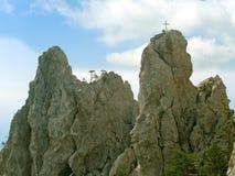 βράχοι δύο Στοκ Εικόνα