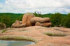 βράχοι ελεφάντων Στοκ Εικόνες