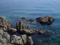 Βράχοι θάλασσας Στοκ Φωτογραφίες