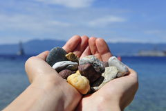 Βράχοι θάλασσας Στοκ Εικόνες
