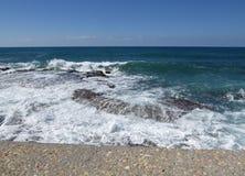 Βράχοι θάλασσας Στοκ φωτογραφία με δικαίωμα ελεύθερης χρήσης