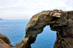 Βράχοι διάβρωσης Στοκ Εικόνα
