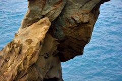 Βράχοι διάβρωσης Στοκ εικόνες με δικαίωμα ελεύθερης χρήσης