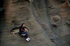 Βράχοι διάβρωσης Στοκ Εικόνες