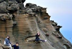 Βράχοι διάβρωσης Στοκ φωτογραφία με δικαίωμα ελεύθερης χρήσης