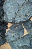 Βράχοι και άμμος γρανίτη Στοκ εικόνες με δικαίωμα ελεύθερης χρήσης