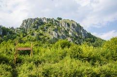 Βράχοι και δάσος Στοκ φωτογραφία με δικαίωμα ελεύθερης χρήσης