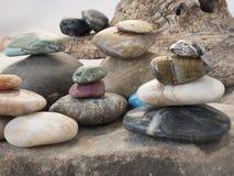 Βράχοι και χαλίκια στη ρύθμιση Στοκ εικόνες με δικαίωμα ελεύθερης χρήσης