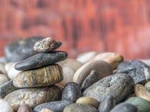 Βράχοι και χαλίκια Στοκ εικόνα με δικαίωμα ελεύθερης χρήσης