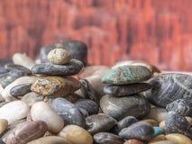 Βράχοι και χαλίκια Στοκ Φωτογραφία