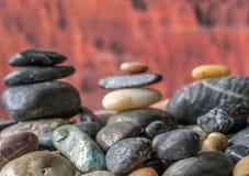 Βράχοι και χαλίκια Στοκ Φωτογραφίες