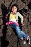 βράχοι κοριτσιών στοκ φωτογραφίες