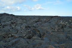Βράχοι λάβας Μεγάλο νησί, Hawai, ΗΠΑ EEUU στοκ εικόνα