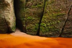 βράχοι λεπτομέρειας Στοκ φωτογραφίες με δικαίωμα ελεύθερης χρήσης