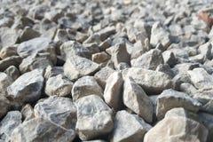 Βράχοι, μικρό βράχοι ή αμμοχάλικο στοκ εικόνα