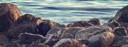Βράχοι νερού Στοκ Εικόνα
