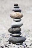 βράχοι παραλιών που συσσ& Στοκ Φωτογραφίες