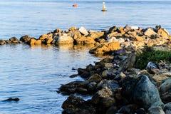 Βράχοι πλήρωσης εδάφους Στοκ Εικόνες