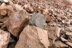 Βράχοι που αποσυνδέονται Στοκ Εικόνες