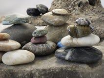 Βράχοι που τοποθετούνται στους σωρούς Στοκ φωτογραφίες με δικαίωμα ελεύθερης χρήσης