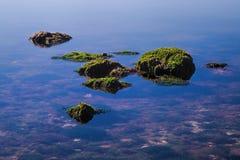 Βράχοι σε Biscayne Στοκ Εικόνα