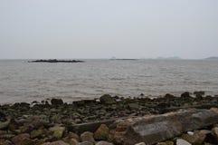 Βράχοι σε Hai Zhu Στοκ φωτογραφία με δικαίωμα ελεύθερης χρήσης
