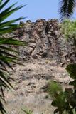 Βράχοι στα θλγραν θλθαναρηα Στοκ εικόνα με δικαίωμα ελεύθερης χρήσης
