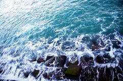 Βράχοι στην ακτή Στοκ εικόνες με δικαίωμα ελεύθερης χρήσης