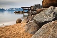 Βράχοι στην παραλία Στοκ Εικόνα