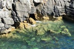 Βράχοι στη θάλασσα, Peniche, Πορτογαλία Στοκ Φωτογραφία