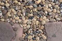 Βράχοι στο έδαφος Στοκ Εικόνες