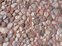 Βράχοι στο κόκκινο κονίαμα - υπόβαθρο σύστασης στοκ φωτογραφία με δικαίωμα ελεύθερης χρήσης