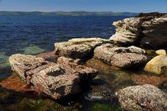 Βράχοι στο νησί Arran (Σκωτία) Στοκ φωτογραφία με δικαίωμα ελεύθερης χρήσης