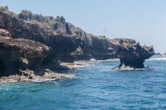 Βράχοι στο Fernando de Noronha Island Στοκ εικόνες με δικαίωμα ελεύθερης χρήσης