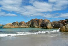 βράχοι σχηματισμού Στοκ εικόνα με δικαίωμα ελεύθερης χρήσης
