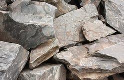 Βράχοι σχιστόλιθου Στοκ Εικόνες