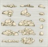 βράχοι σωρών Στοκ Φωτογραφία