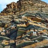 Βράχοι της Κορνουάλλης στοκ εικόνες