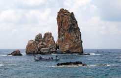 Βράχοι της Μεσογείου Στοκ Εικόνα