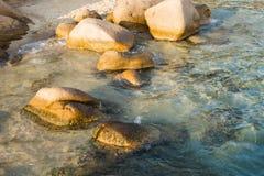 Βράχοι της Σαρδηνίας Στοκ Εικόνες