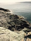 Βράχοι του Νιούπορτ Στοκ Φωτογραφίες