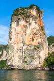 Βράχοι του AO Nang, επαρχία Krabi, Ταϊλάνδη Στοκ Εικόνες
