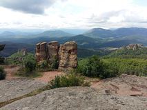 Βράχοι Belogradchik στοκ φωτογραφία