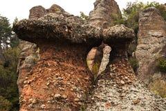 Βράχοι Belogradchik Στοκ φωτογραφίες με δικαίωμα ελεύθερης χρήσης
