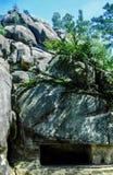 Βράχοι Dovbush Στοκ Φωτογραφία