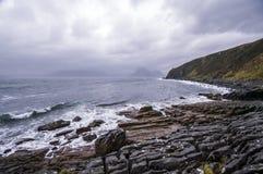 Βράχοι Elgol Στοκ φωτογραφία με δικαίωμα ελεύθερης χρήσης
